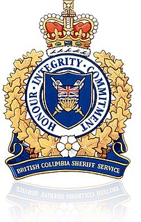 British Columbia Sheriff Service Law enforcement agency for BC courts