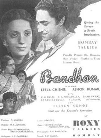Bandhan (1940 film) - Image: Bandhan (1940)