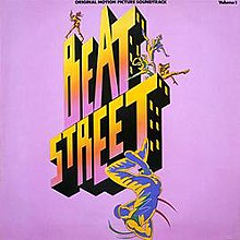 "Cover of the ""Beat Street (Original Motion Picture Soundtrack) - Volume 1""."