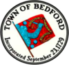 Official seal of Bedford, Massachusetts