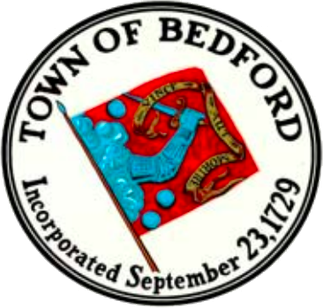 Official seal of Bedford, Massachusetts