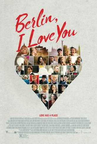 Berlin, I Love You - Theatrical release poster