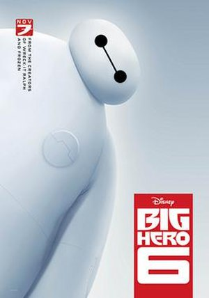 Big Hero 6 (film) - Theatrical release poster