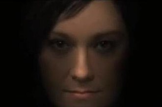 The Dull Flame of Desire - Björk and Anohni's faces morphed into one in the third part of the video.