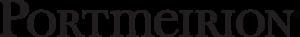 Portmeirion Pottery - Image: Black portmeirion logo