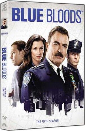Blue Bloods (season 5) - Image: Blue Bloods S5 DVD