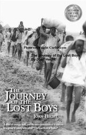 "The Journey of the Lost Boys - Image: Book cover of ""The Journey of the Lost Boys"""