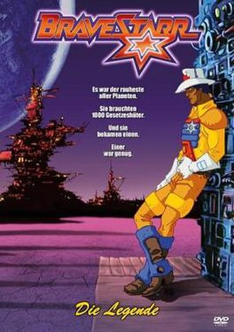 BraveStarr: The Movie - Image: Brave Starr The Movie DVD cover