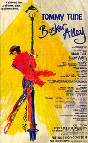Busker Alley - Poster for planned 1995 production