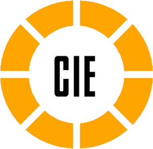 "CIÉ - ""The Broken Wheel"" Logo introduced in 1964 and modernised in 2000"