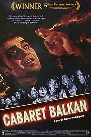 Cabaret Balkan - International poster