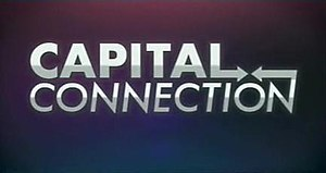Capital Connection (TV series) - program logo used through 2014-03-28