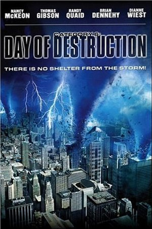 Category 6: Day of Destruction - Cover of the original DVD release of the film
