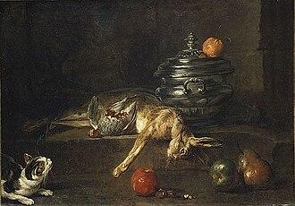 Tureen - Still Life (The Silver Tureen, Chardin, 1728 (Metropolitan Museum of Art)