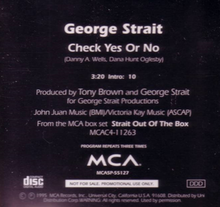 Check Yes or No cd single.png