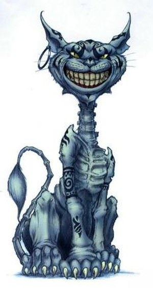 The Cheshire Cat as depicted in American McGee...