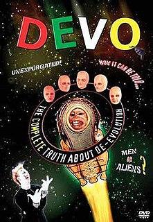 <i>The Complete Truth About De-Evolution</i> 1993 video album by Devo