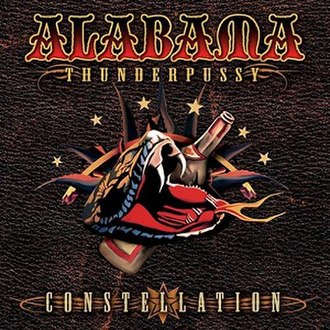 Constellation (Alabama Thunderpussy album) - Image: Constellation Bama Thunderpussy
