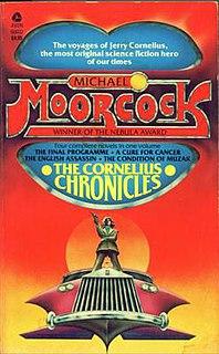 <i>The Cornelius Quartet</i> book by Michael Moorcock