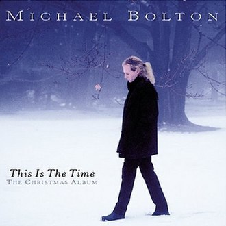 This Is The Time: The Christmas Album - Image: Cover this is the time