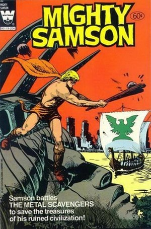 Mighty Samson - Image: Cover of Mighty Samson