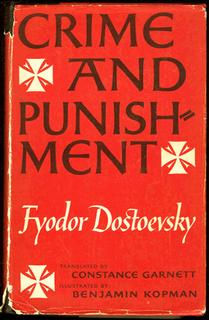 <i>Crime and Punishment</i> 1866 Russian-language novel by Dostoyevsky