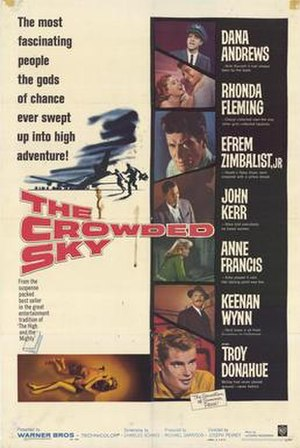 The Crowded Sky - Theatrical poster