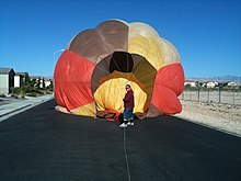 Hot Air Balloon Racing