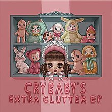 Cry Baby's Extra Clutter EP Cover.jpg