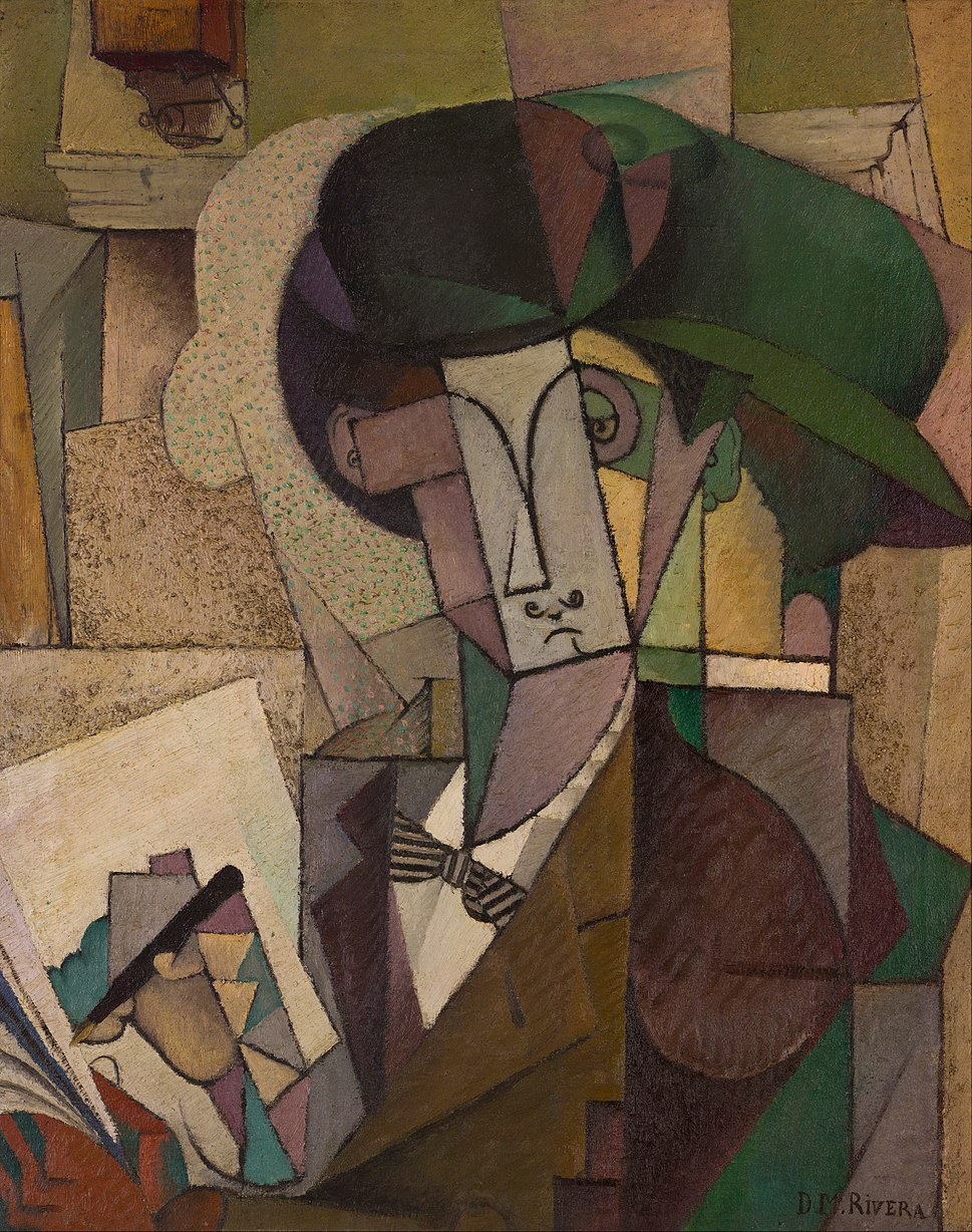 Diego Rivera - Young Man with a Fountain Pen - Google Art Project