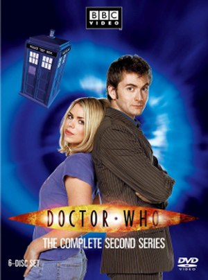 Doctor Who (series 2) - DVD box set cover art