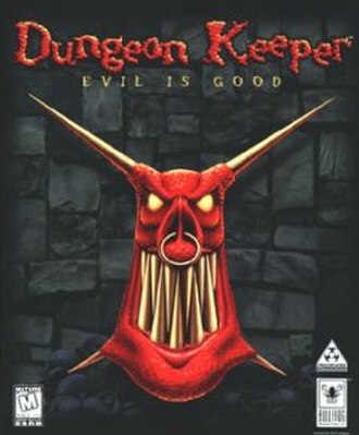 Dungeon Keeper - North American box art