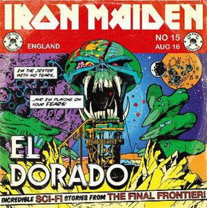 El Dorado (Iron Maiden song) - Image: Eldoradosingle