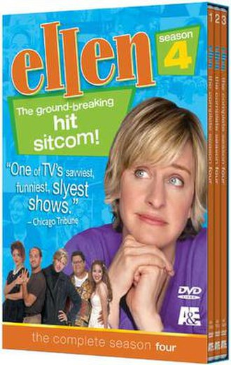Ellen (TV series) - Ellen The Complete Fourth Season DVD Cover Art
