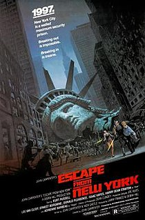 <i>Escape from New York</i> 1981 American science fiction action film by John Carpenter