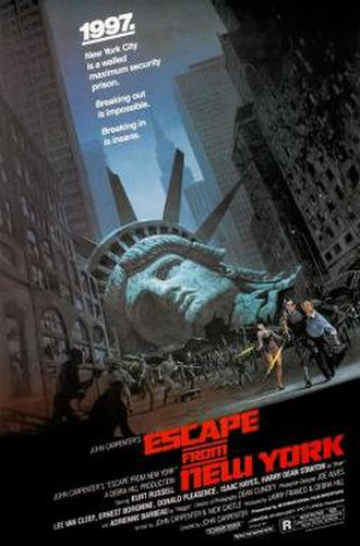 Escape from New York - Theatrical release poster