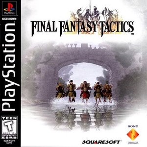 Final Fantasy Tactics - North American boxart