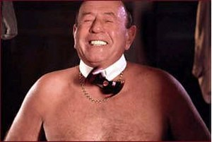 Frank Butcher - Frank seducing Pat naked was voted the fifth top soap moment of all time in 2004.