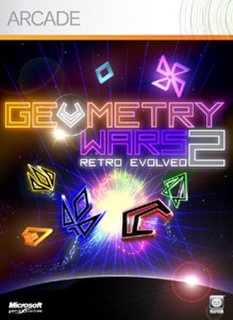 Geometry Wars: Retro Evolved 2 - Image: Geometrywars 2cover