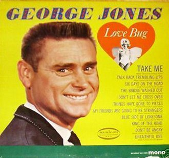 Love Bug (George Jones album) - Image: George Jones Love Bug