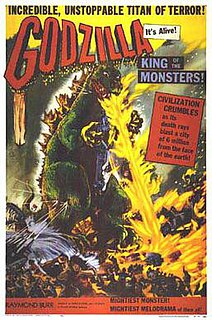 <i>Godzilla, King of the Monsters!</i> 1956 Japanese-American monster film