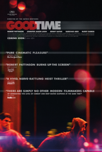 Good Time (film) - Theatrical release poster