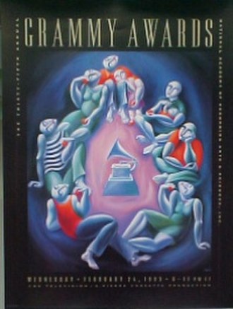 35th Annual Grammy Awards - Official poster