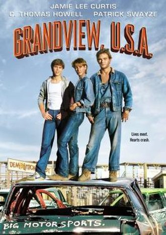 Grandview, U.S.A. - DVD cover