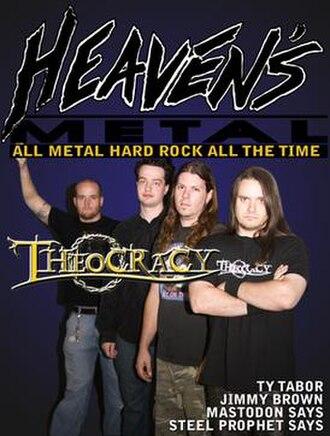 HM (magazine) - Heaven's Metal Fanzine featuring Theocracy