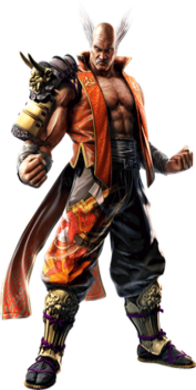 Heihachi Mishima character in Tekken
