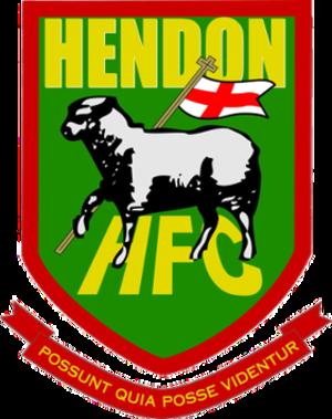 Hendon F.C. - Image: Hendon Fc Crest