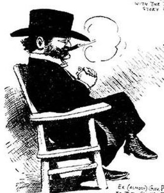 George Pardee - Pardee as depicted by cartoonist George Herriman in 1906.