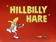Hillbilly Hare Wikipedia