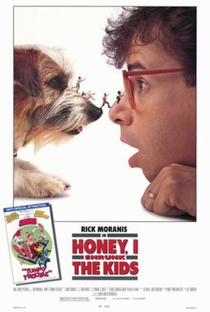 Honey, I Shrunk the Kids - Theatrical release poster